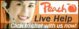 peach live chat