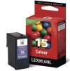 210614 - Original Tintenpatrone color No. 15A, 18C2100E Lexmark