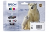 210847 - Original Multipack Tinte PBKCMY No. 26, T2616 Epson