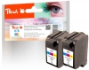 318737 - Peach Twin Pack Print-head colour, compatible with No. 78, C6578D HP