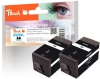 318854 - Peach TwinPack Ink Cartridge black HC compatible with No. 920XL, CD975AE HP
