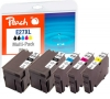 319079 - Peach Spar Pack Plus Tintenpatronen kompatibel zu No. 27XL Epson